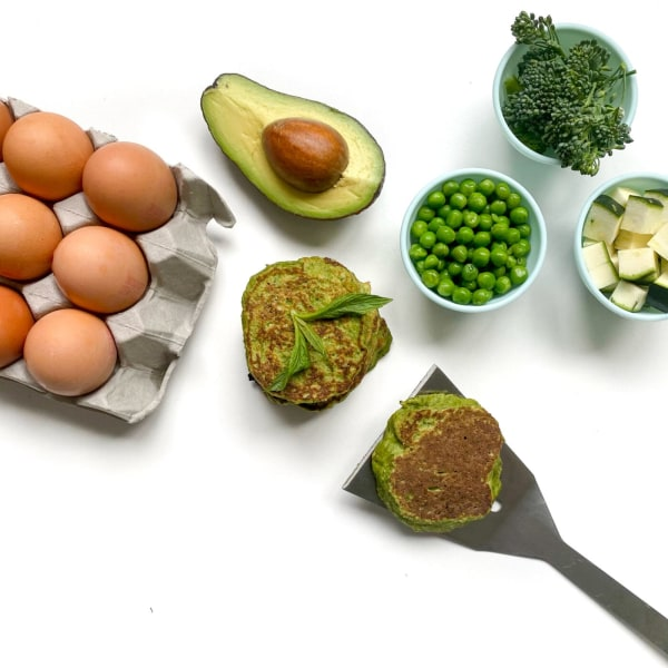 Image of Green Machine Vegetable Fritters