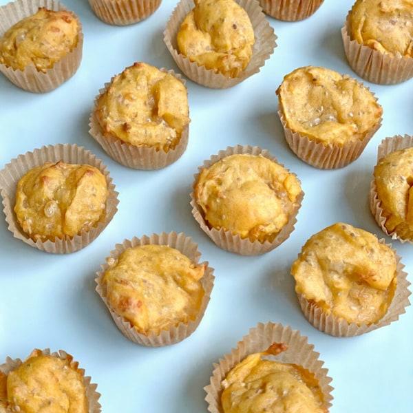Image of Salmon Chia Muffins