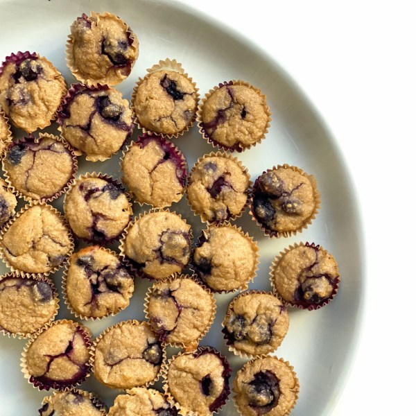 Image of Mini Blueberry Apple Muffins