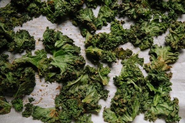 Image ofEasy Crispy Kale and Cavolo Nero