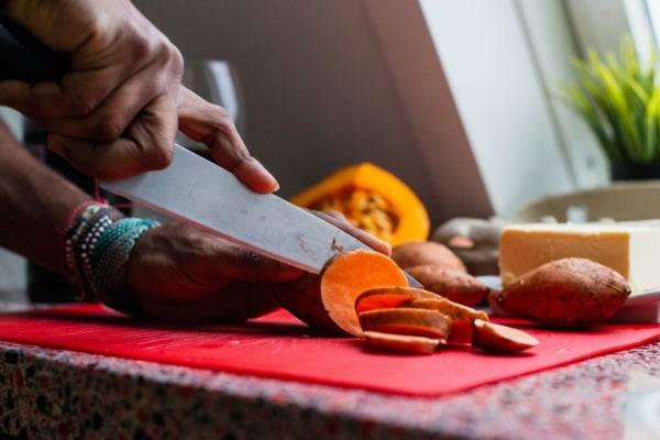 Image ofSmoky Dijon Mustard Sweet Potato and Jerusalem Artichoke Mash