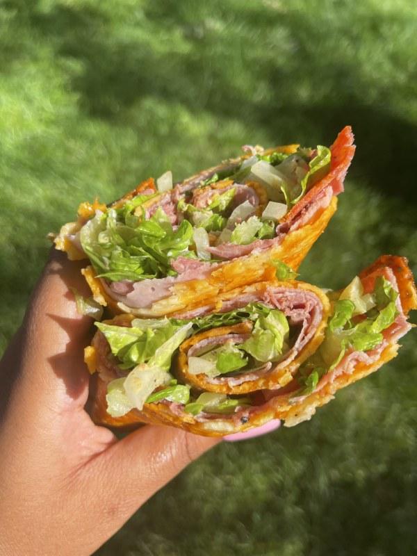 Image ofKETO Cheese Wrap