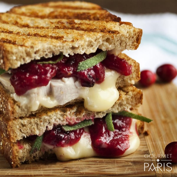 Image ofRoasted Strawberry and Brie Grilled Cheese