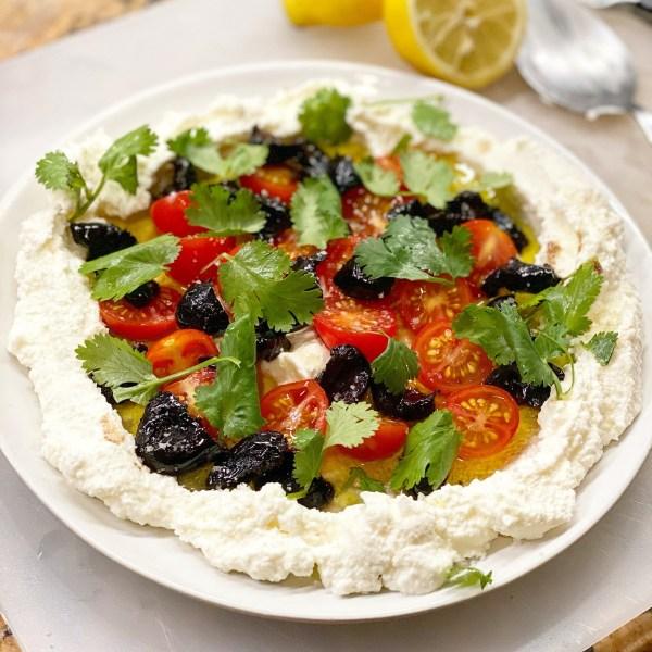 Image of Whipped Ricotta Salad