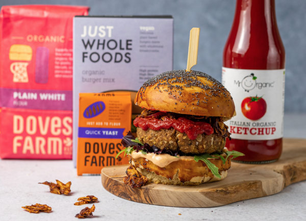 Image of The Perfect Summer Vegan Burger Brioche Bun!