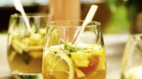 Mango Gin Bowle Rezept