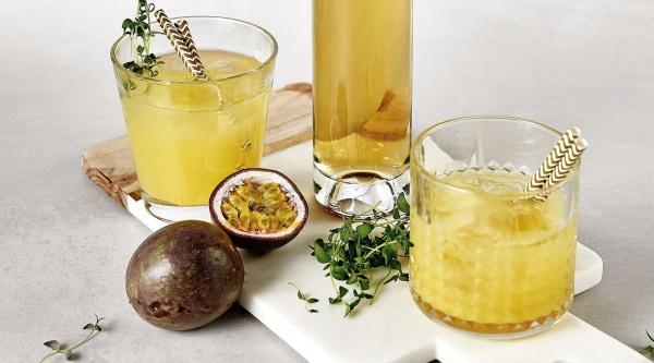 Pfirsich-Maracuja-Secco Rezept