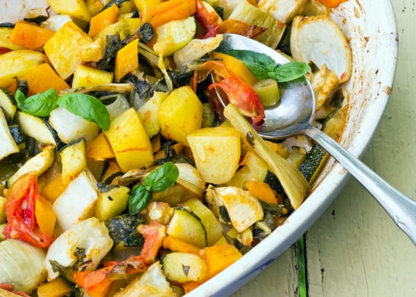 Image of Sweet and Tangy Roast Vegetables