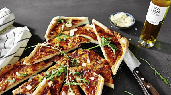 Pizza-Ecken Rezept