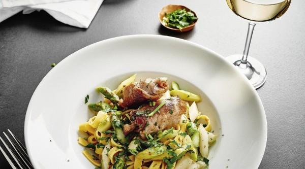 Involtini mit Spargel und Pasta Rezept