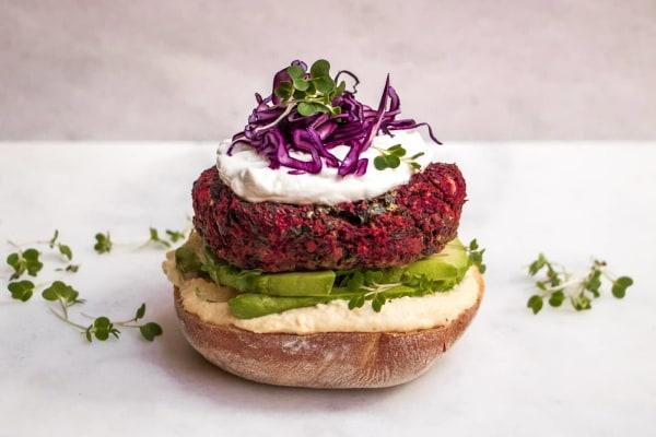 Image ofVegan Beetroot Burger