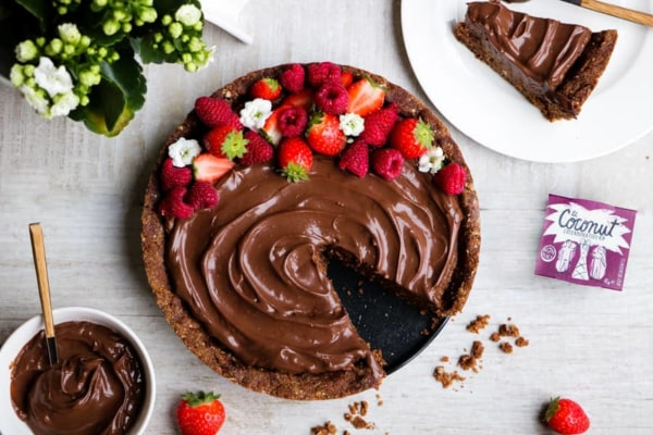 Image ofRaw Vegan Chocolate Cake
