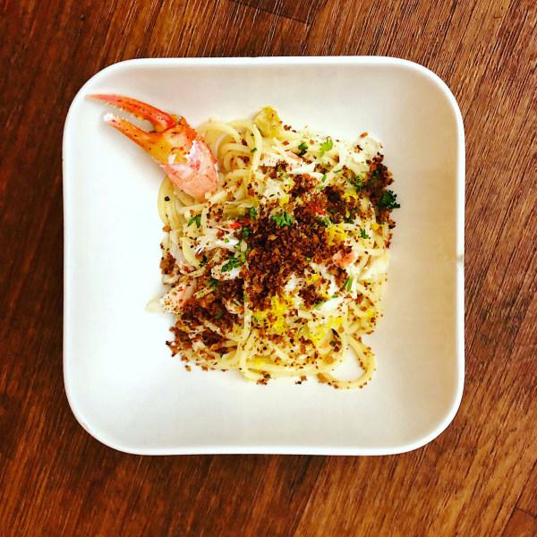 Image of Lemon & Crab Spaghetti