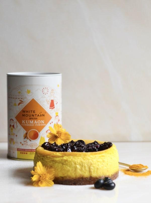 Image ofBasque Baby Turmeric New York Cheesecake