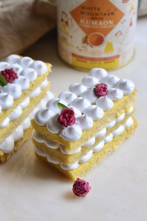 Image ofTurmeric Pineapple Mille Feuille