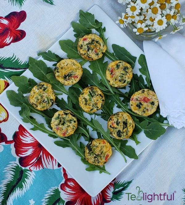 Image of Garden Veggie Quiche Cups