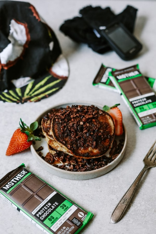 Image ofChocolate Pancakes