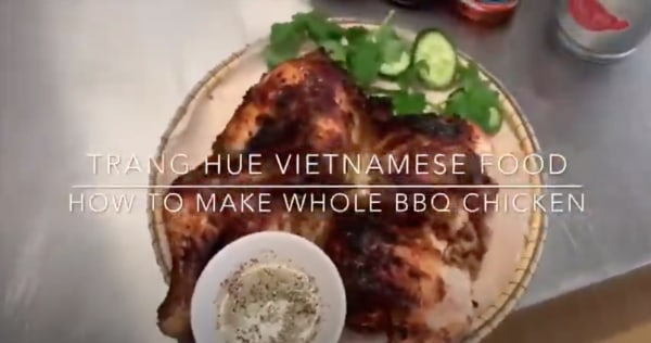 Image of Whole BBQ Chicken