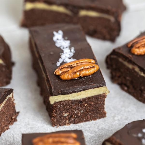 Image ofVegan Salted Caramel Brownies