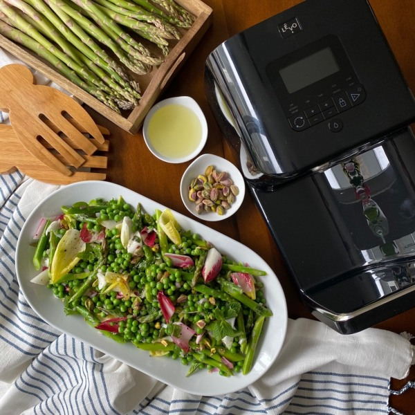 Image ofMint-Infused Spring Pea and Asparagus Salad