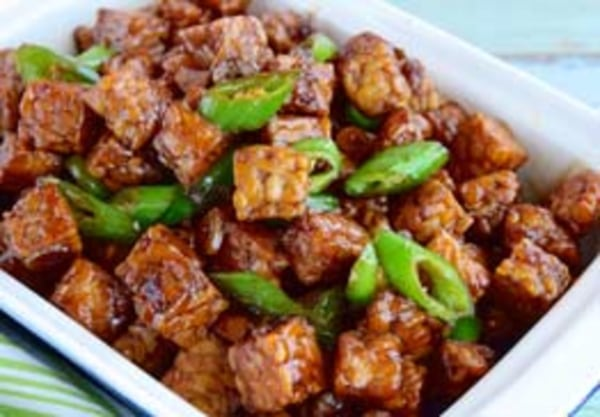 Image ofSpicy TBQ Tempeh