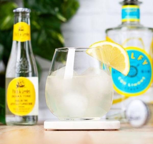 Image of Lemon Thyme Gin & Tonic