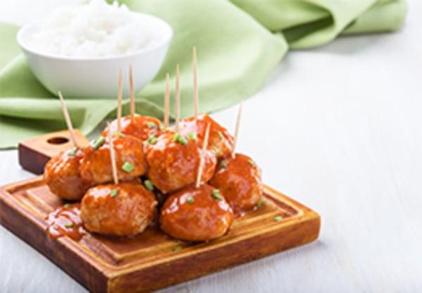 Image ofTBQ Spicy Meatballs