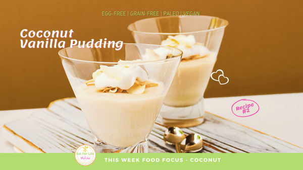 Image ofCoconut Vanilla Pudding