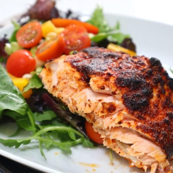 Image of Smothered Salmon