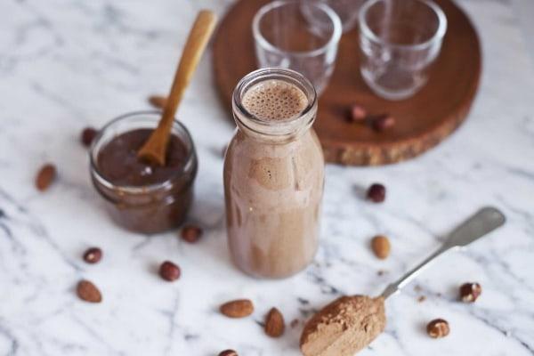 Image ofSmoothie Gourmand au Chocolat et Beurre de Noisette