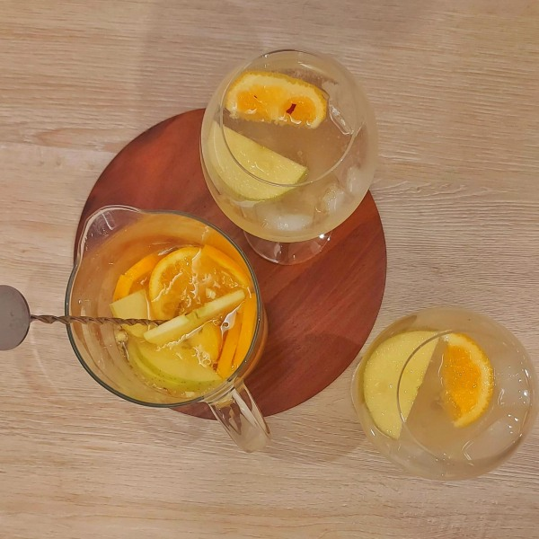 Image ofEASY CROWD PLEASER WHITE WINE SANGRIA - WITH PORT!