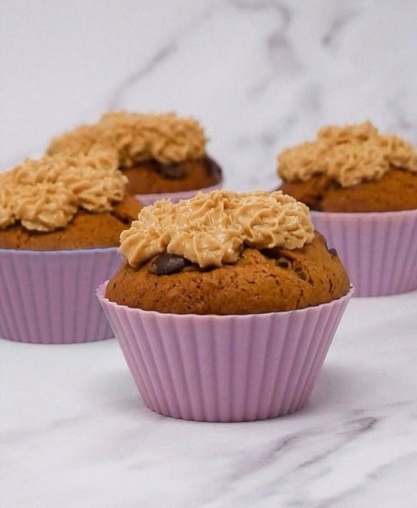 Image ofChocolate Chip, Biscoff and Banana Bread Cupcakes!