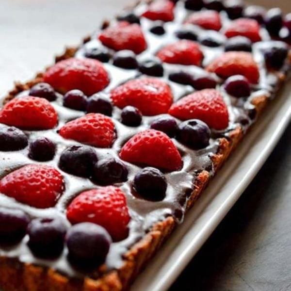 Image ofHazelnut Chocolate Tart