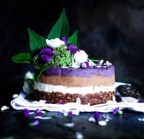 Image ofThree Layer cheesecake