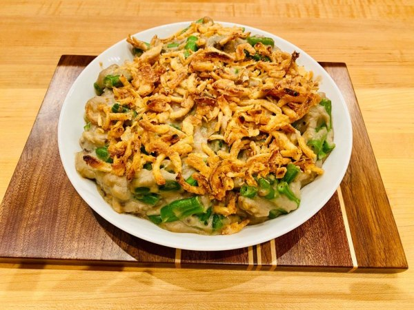Image ofKosher Parve Classic Thanksgiving Green Bean Casserole