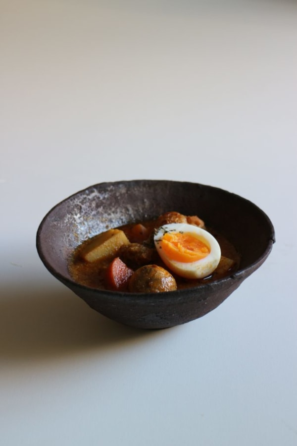 Image of昼下がりのスープカレー。