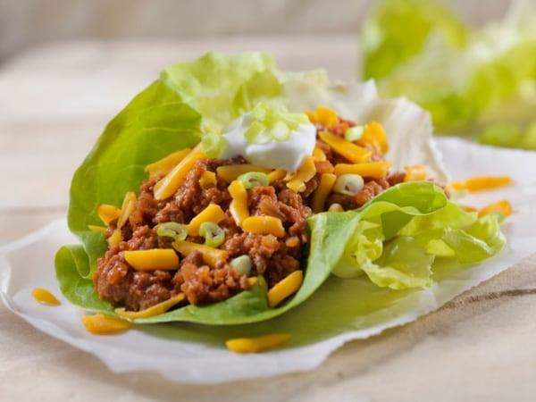 Image ofTacos con Legumbres (Tacos Low Carbs)
