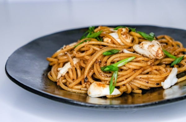 Image ofGarlic Noodles With Crab Meat
