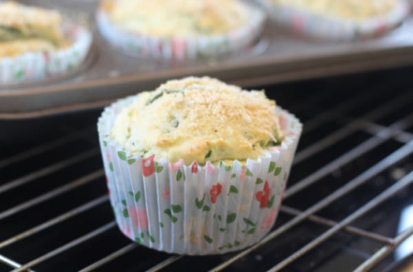 Image ofGluten & Dairy Free Savoury Spinach & Feta Muffins