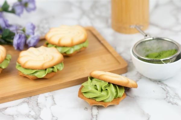 Image of3-Ingredient Vegan Matcha Buttercream