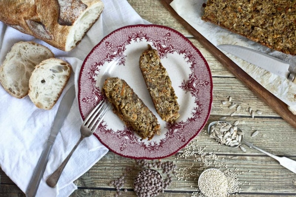Image ofPâté Végétal aux Lentilles, Quinoa et Graines de Tournesol