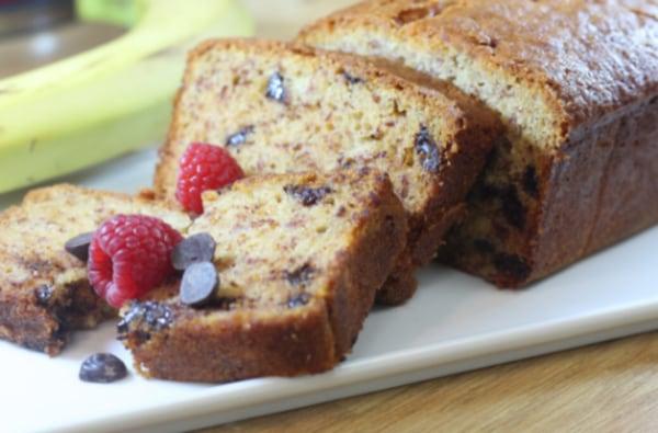 Image ofGluten & Dairy Free Banana & Chocolate Loaf