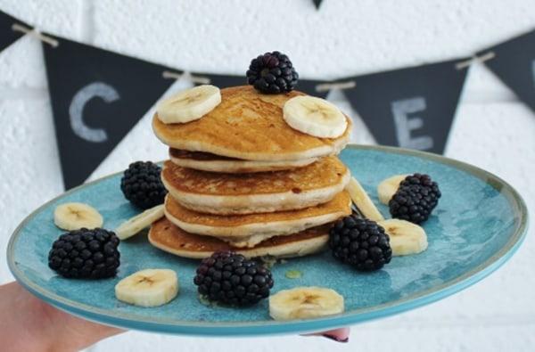 Image ofGluten & Dairy Free Oaty Banana Pancakes