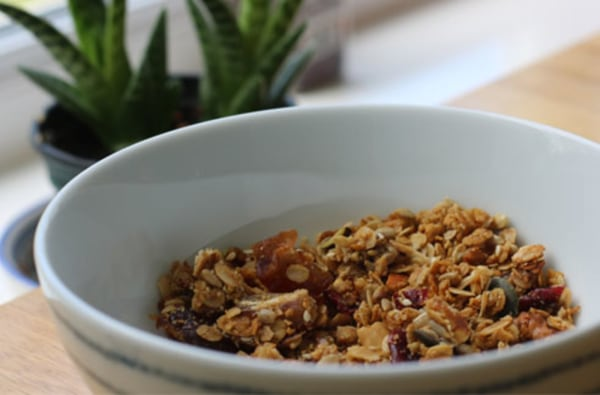 Image ofGluten & Dairy Free Date & Sunflower Seed Granola by Beth Heddle