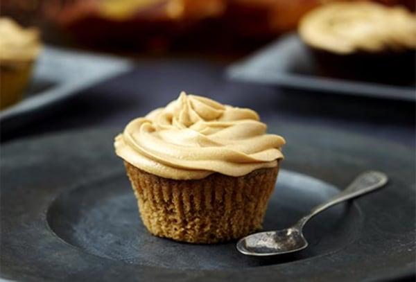 Image ofGluten & Dairy Free Pumpkin Spice Latte Cupcakes