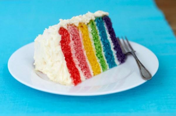 Image ofGluten Free Rainbow Cake