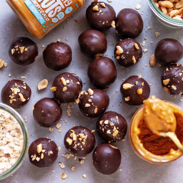 Image of Crunchy Erdnuss-Protein Balls