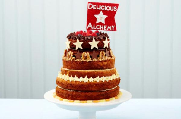 Image ofThe GFMBO 2015 Winning Gluten Free Celebration Cake