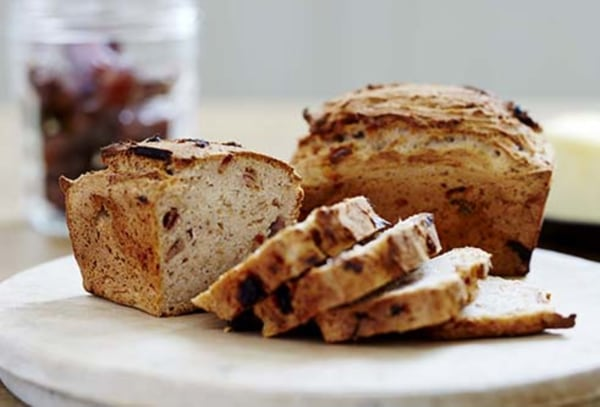 Image ofGluten Free Date and Rosemary Mini Bread Loaves