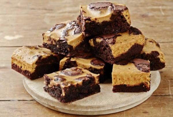 Image ofGluten Free Pumpkin Swirl Cheesecake Brownies